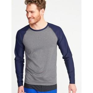 Raglan-Sleeve Rashguard for Men