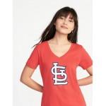 MLB&#174 Team Graphic V-Neck Tee for Women