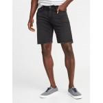 Slim Built-In Flex Denim Cutoff Shorts for Men - 9-inch inseam