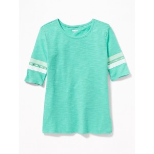 Graphic Ballet-Sleeve Tee for Girls