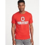 College Team Graphic Tee for Men