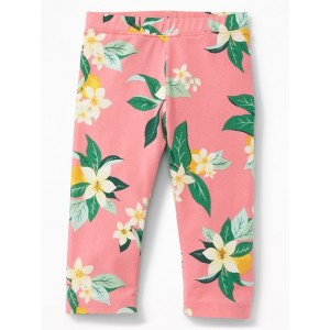 Jersey Capri Leggings for Toddler Girls