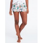 Printed Poplin Boxers for Women (2 1/2