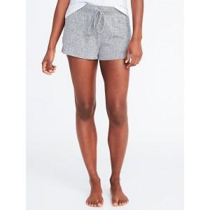 Plush-Knit Lounge Shorts for Women