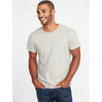 Soft-Washed Perfect-Fit Heathered Tee for Men