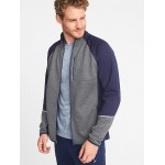 Go-Warm Mock-Neck Performance Zip Jacket for Men
