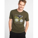 Graphic Go-Dry Eco Performance Tee for Men