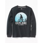 Graphic Thermal Tee for Boys