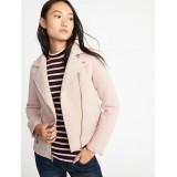 Scuba-Knit Moto Jacket for Women