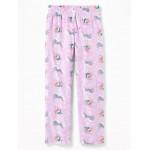 Printed Micro Performance Fleece Sleep Pants for Girls