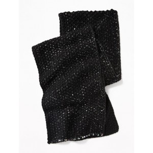 Textured Foil-Print Scarf for Girls