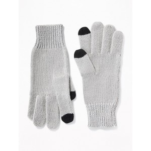 Color-Blocked Text-Friendly Gloves for Girls