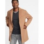 Soft-Brushed Topcoat for Men