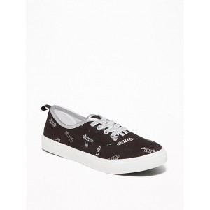 Elastic-Lace Sneakers for Girls