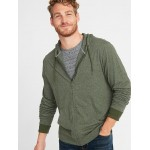 Lightweight Jersey Zip Hoodie for Men