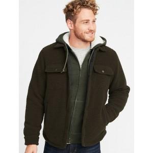 Sherpa Shirt Jacket for Men