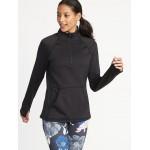 Built-In Warm 1/4-Zip Pullover for Women