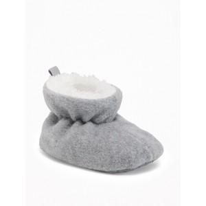 Micro Performance Fleece Booties for Baby