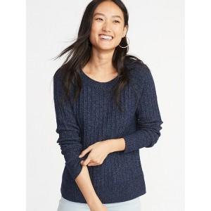 Rib-Knit Sweater for Women