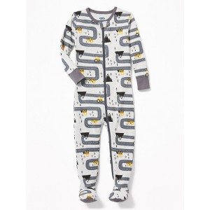Construction-Truck Footed Sleeper for Toddler & Baby