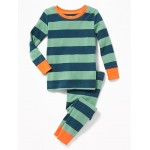 Rugby-Stripe Sleep Set For Toddler & Baby