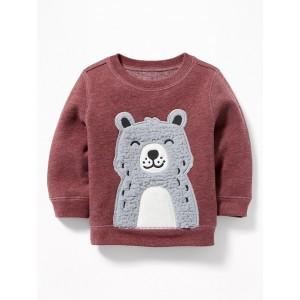 Bear-Graphic Sweatshirt for Baby