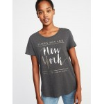 New York Times Square Tee for Women