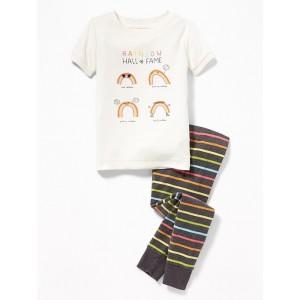 2-Piece Rainbow Sleep Set for Toddler & Baby