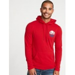 Lightweight Graphic Pullover Hoodie for Men