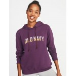 Vintage Logo-Graphic Pullover Hoodie for Women