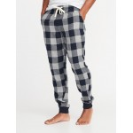 Printed Flannel Joggers for Men