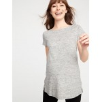 Maternity Relaxed Tunic Tee