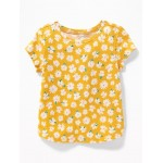 Printed Crew-Neck Tee for Toddler & Baby
