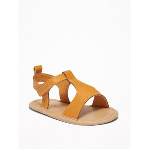 Faux-Leather Sandals for Baby