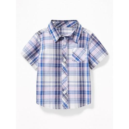 올드네이비 Patterned Poplin Shirts for Baby