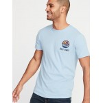 Logo-Graphic Soft-Washed Tee for Men