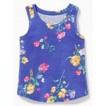 Printed Jersey Tank for Toddler & Baby