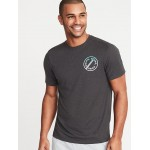 Graphic Go-Dry Performance Tee for Men