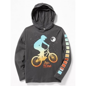 Graphic Softest Tee Hoodie for Boys
