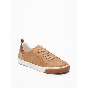 Perforated Faux-Suede Sneakers for Boys
