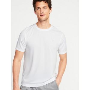 Go-Dry Mesh Performance Tee for Men
