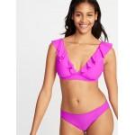 Ruffle-Trim Swim Top for Women