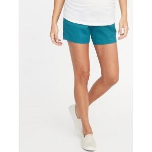 Maternity Full Panel Everyday Shorts - 5-inch inseam