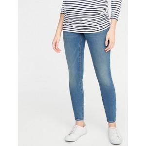 Maternity Full-Panel Skinny Jeans