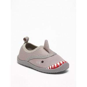Shark Critter Swim Shoes For Toddler Boys