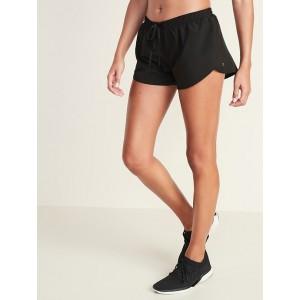 Dolphin-Hem Run Shorts for Women  3-inch inseam