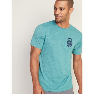 Graphic Go-Dry Eco Tee for Men