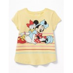 Disney&#169 Minnie Mouse & Daisy Duck Tee for Toddler Girls