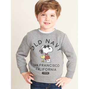 Peanuts&#174 Snoopy & Woodstock Logo Sweatshirt for Toddler Boys