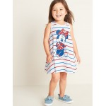 Disney&#169 Minnie Mouse Graphic Swing Dress for Toddler Girls